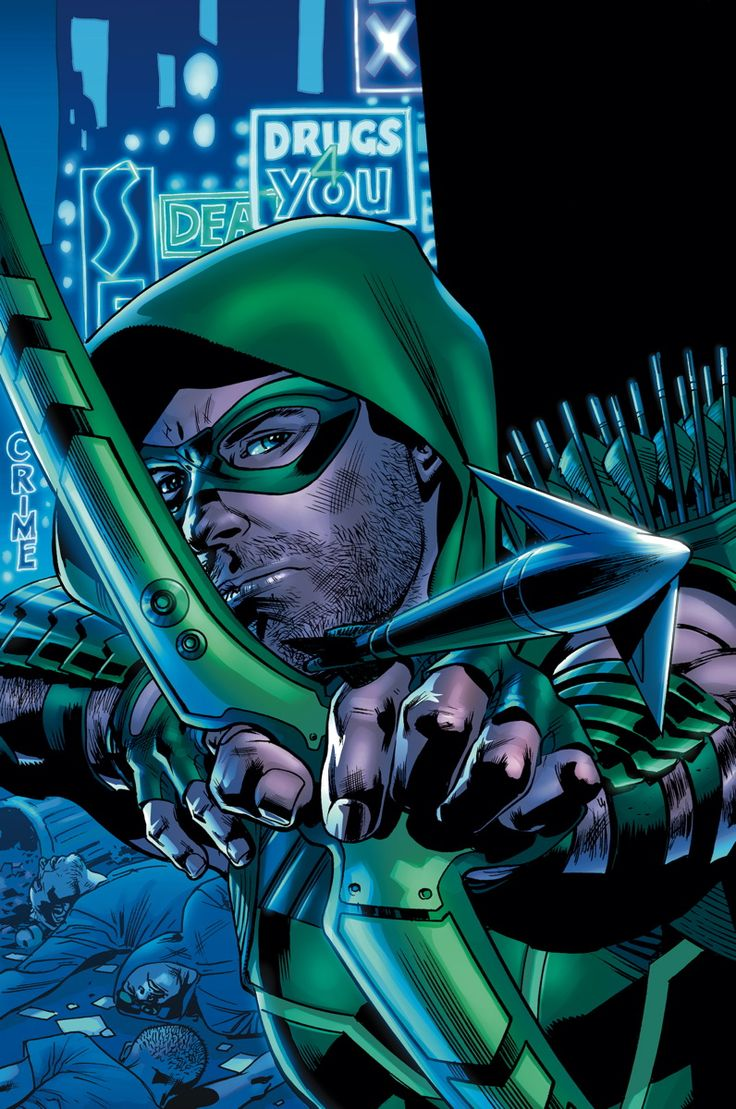 GREEN ARROW #38 Written by ANDREW KREISBERG and BEN SOKOLOWSKI Art by DANIEL SAMPERE and JONATHAN GLAPION Cover by BRYAN HITCH On sale JANUARY 7 • 32 pg, FC, $2.99 US • RATED T After a near-death experience at the hands of John King, billionaire Oliver Queen must fight a foe he can't just beat with sheer force!