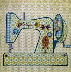 sewing machine illustration - Google Search