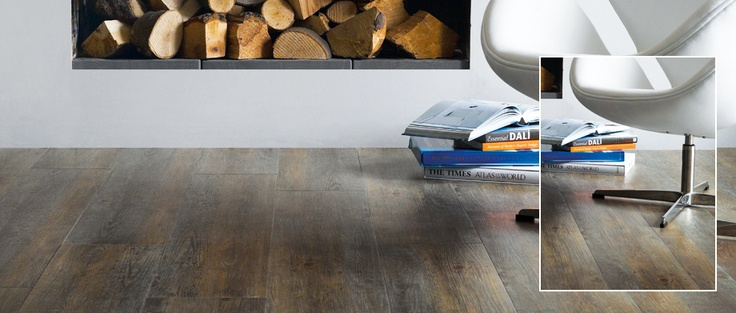 SIGNATURE - Worn Oak - Subtle tones from warm brown to rich grey gives Worn Oak a true aged effect, perfect for contemporary interiors. Available from Rodgers of York #Interiors #Flooring
