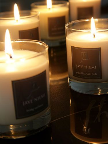 Kindle the flames of romance with Jaye Niemi Scented Candles.  100% botanical wax, cotton wicks, burn clean and cool.  www.jayeniemi.com