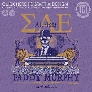 Sigma Alpha Epsilon | ΣΑΕ | SAE | Paddy Murphy | TGI Greek | Greek Apparel | Custom Apparel | Fraternity Tee Shirts | Fraternity T-shirts | Custom T-Shirts