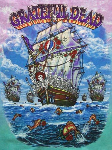 ship of  fools, grateful dead shirt