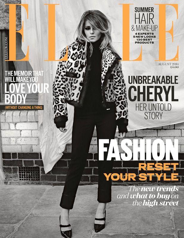 Cheryl Cole - Aug. 2014 U.K. Cover