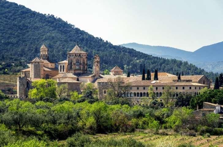 #Monasterio de #Poblet, #Tarragona #Cataluña #España