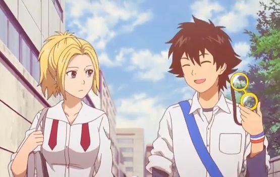 Himeko and Bossun / sket dance