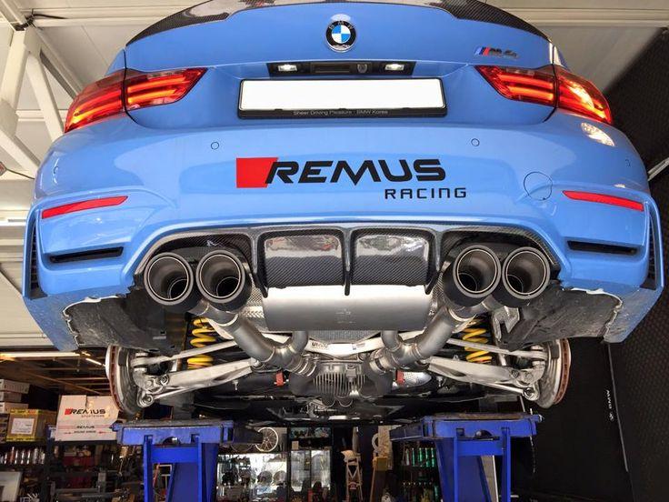 Sportowy układ wydechowy (wydech, tłumik) Remus dla BMW M4.  http://remus-polska.pl/ Remus Polska