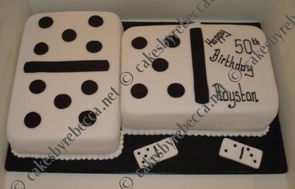 Domino Cake
