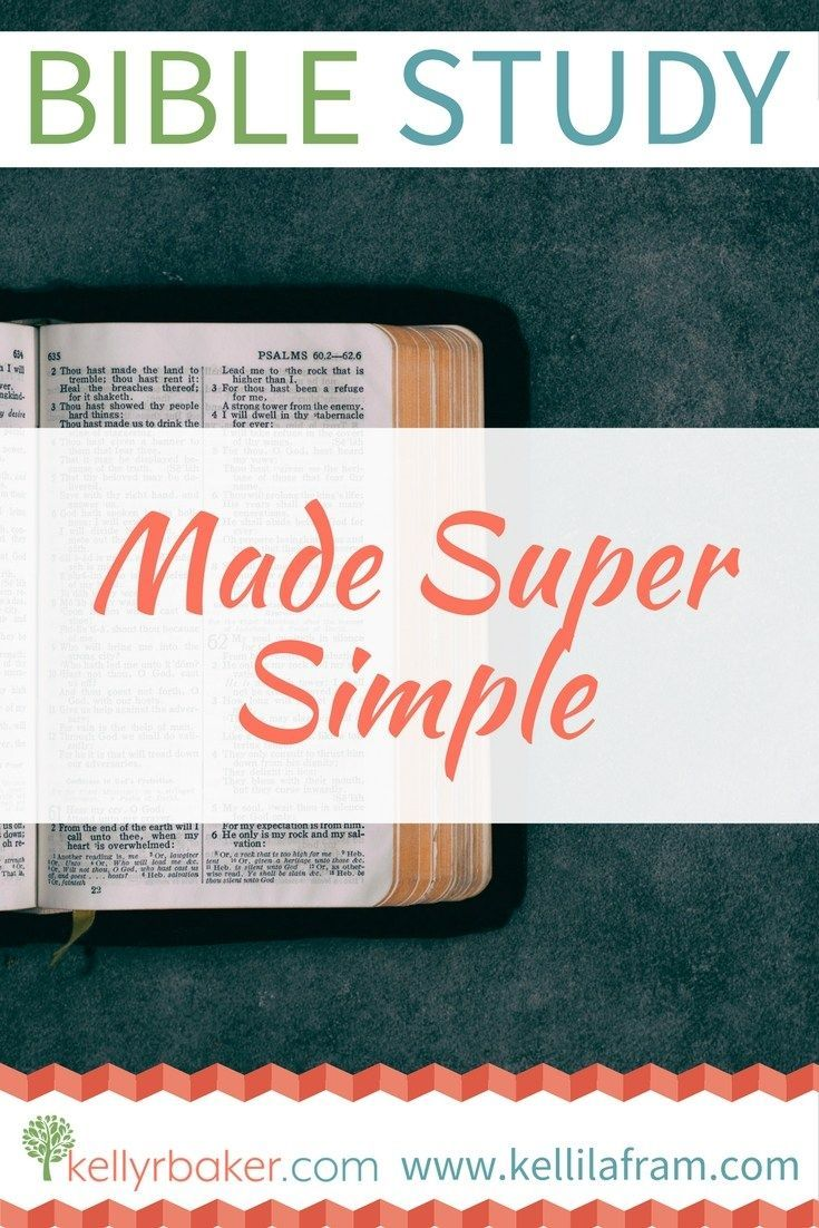 Bible Study Made Super Simple   How To Read the Bible   Bible