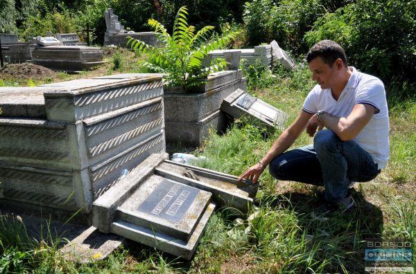 Barbárok a miskolci temetőben #miskolc #temető