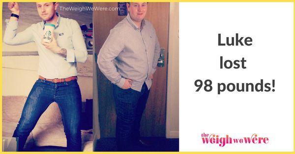 How I Lost 98 Pounds: Luke Drops Weight And Discovers A New Life