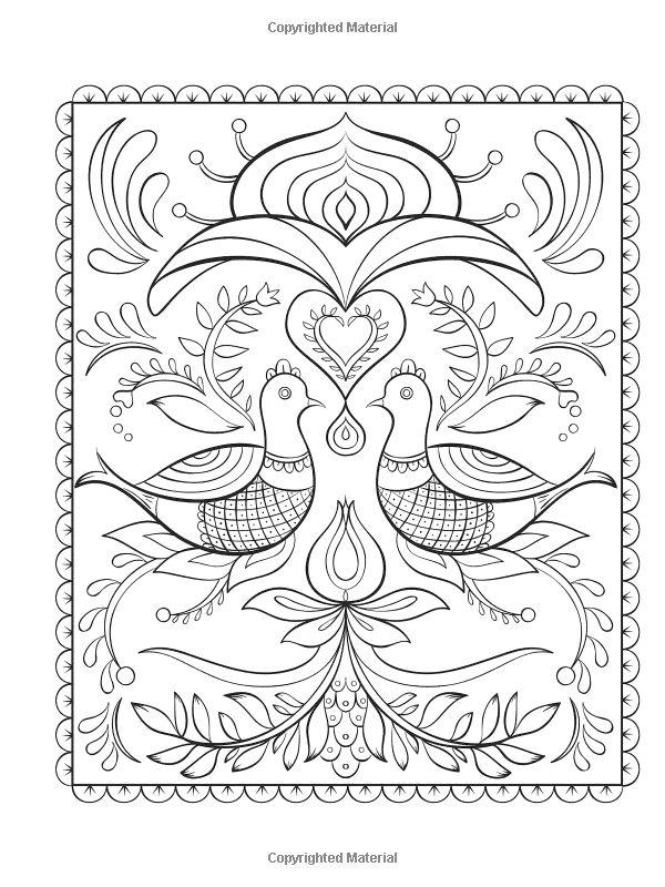 Coloriage Nordic DesignColoring BooksAdult