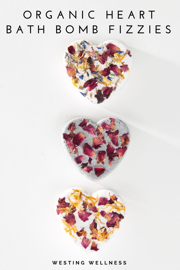 Organic All Natural Bath Bombs/ Etsy Westing Wellness/ Made with Organic Flower Petals/ Bath Fizzie