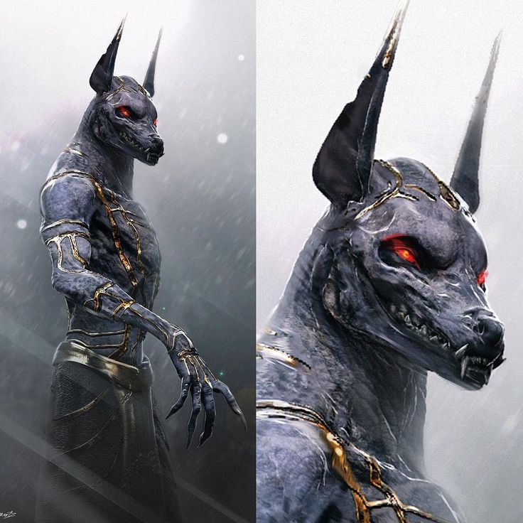 """#anubis #creaturedesign for #godsofegypt. I did these designs through Legacey Fx. Great company and phenomenal team of artists. I'm pretty sure this was…"""