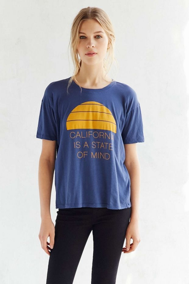 California State of Mind Tee | 12 Gifts for the Westbound High School Grad | http://www.hercampus.com/high-school/12-gifts-westbound-high-school-grad