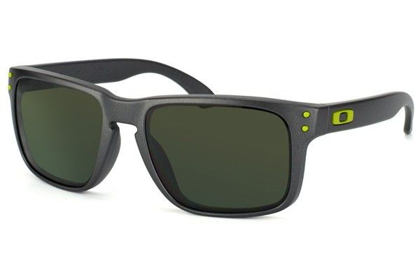Oakley Sunglasses Holbrook - Matte Grey/Green