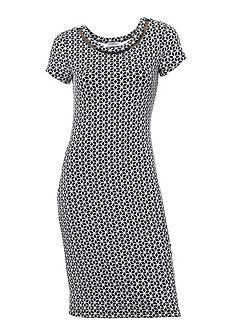 Alakformáló jaquard mintás ruha