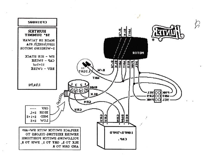 hunter src plus wiring diagram