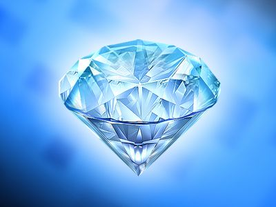 Development of icon - Diamond.