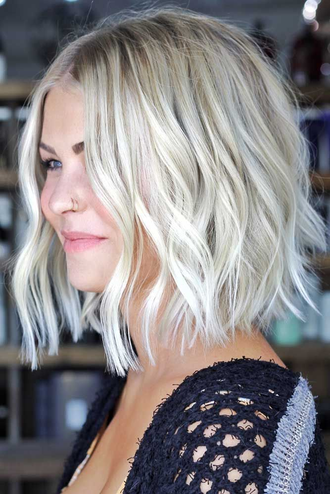 70 Chic Short To Long Wavy Hair Styles Lovehairstyles Com Wavy Bob Hairstyles Long Wavy Hair Long Bob Hairstyles