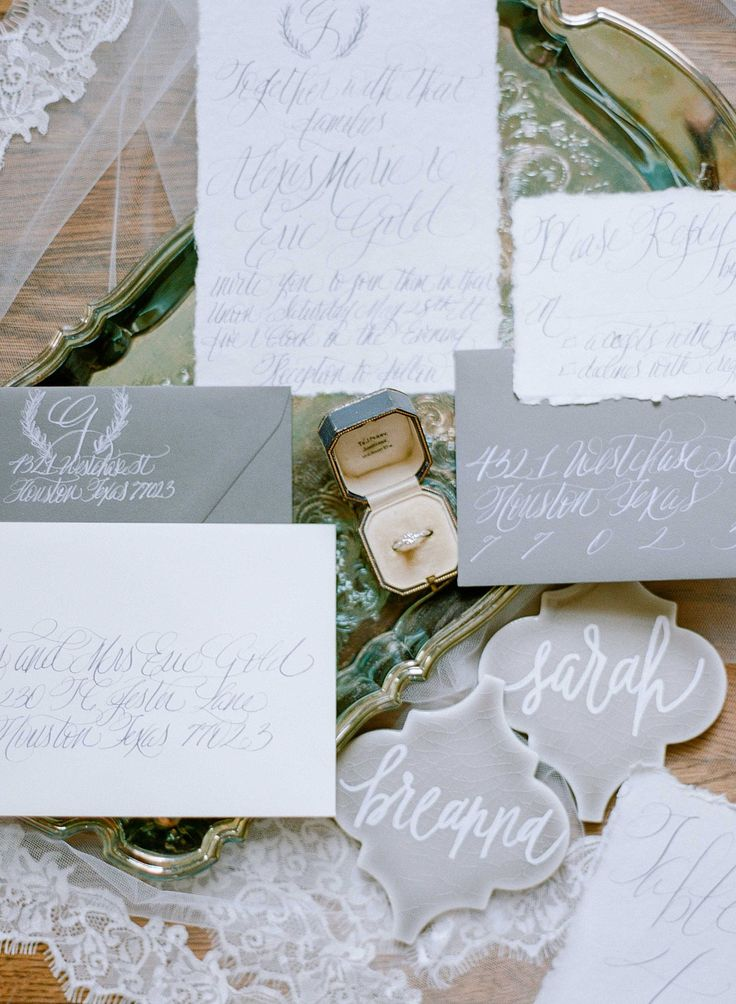 how to start my own invitation printing business%0A Fresh Spring Wedding Inspiration from Amanda Watson Workshops