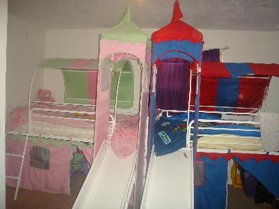 castle tent for loft bed 2