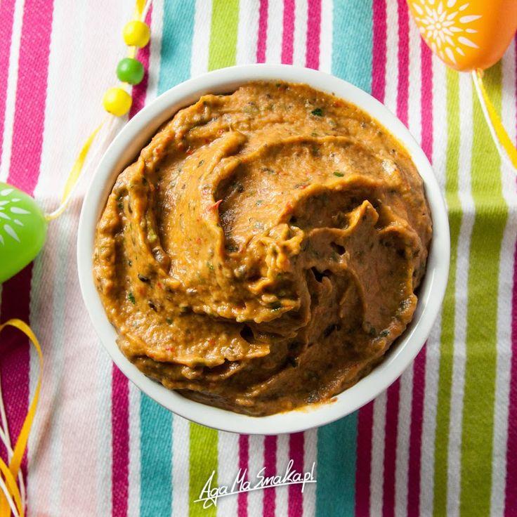 """""""Masełko"""" z pieczonego bakłażana - wegańskie i bezglutenowe ⋆ AgaMaSmaka - żyj i jedz zdrowo!"""