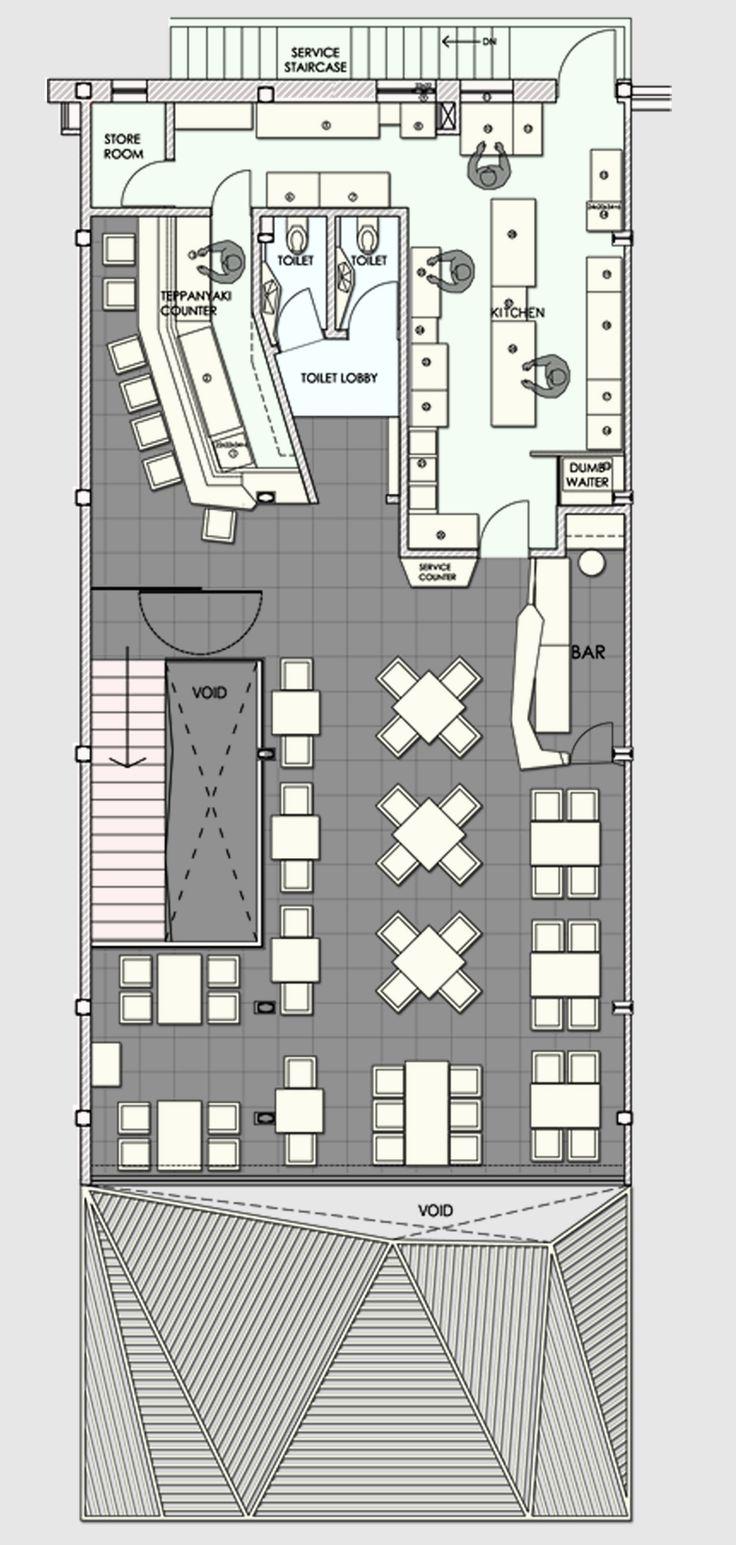 The different kitchen layouts bandidusa home design preferance - Galer A Restaurant Auriga Sanjay Puri 13