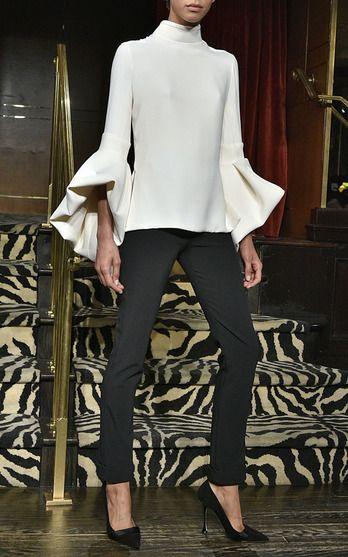Brandon Maxwell Fall/Winter 2016 Look 8 on Moda Operandi
