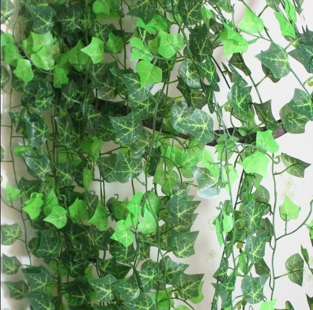 7.5ft Artificial Ivy Leaf Garland Plants Vine Fake Foliage Flowers Home Decor US