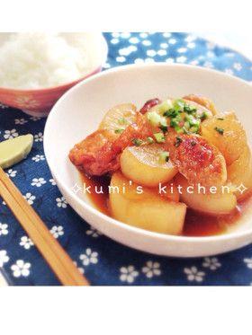 圧力鍋で速攻簡単!大根とさつま揚げの煮物 by kumi0901 [クックパッド] 簡単おいしいみんなのレシピが263万品