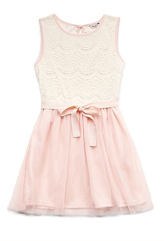 Easter Dress for Sis...? Dainty Lace Dress (Kids) | FOREVER21 girls - 2000090256