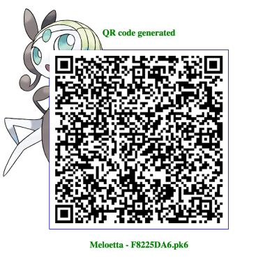 Not A Meloetta It S A Slugma Pokemon Qr Codes Pinterest Pok 233 Mon Qr Codes And Code Pokemon