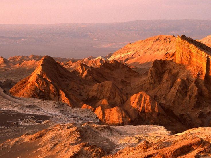 Fondo de pantalla de El desierto de Atacama, en Chile