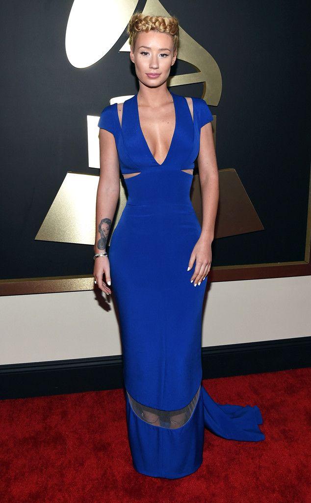 Iggy Azalea from 2015 Grammys: Red Carpet Arrivals  In Armani Privé #2015grammys #redcarpet #iggyazalea
