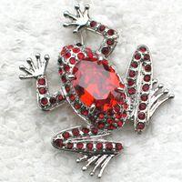 Ювелирные изделия броши циркон красный горный хрусталь лягушка брошка 891 C