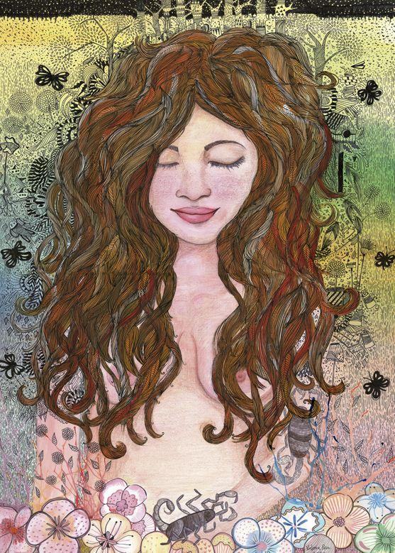 Remedios La bella ♥ by valeria peña parra, via Behance