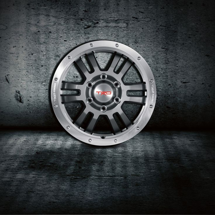 "Toyota Tacoma 4x4 1995-2014 TRD 17"" Gunmetal Grey Bead Lock Rims Set - OEM NEW"
