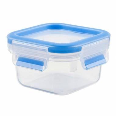 Clip&Close Kare Plastik Saklama Kabı 0.25L