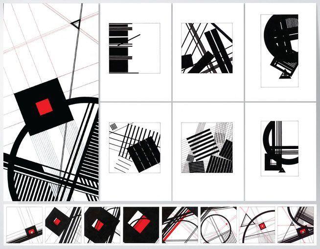 композиция из геометрических фигур - Поиск в Google