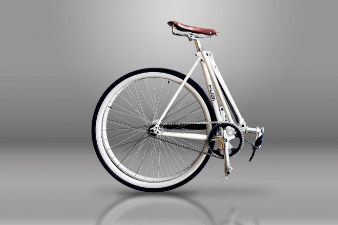 10秒で2つ折りにできる自転車「FUBifixie」―折り畳みなのに格好良いフィクシー - えん乗り