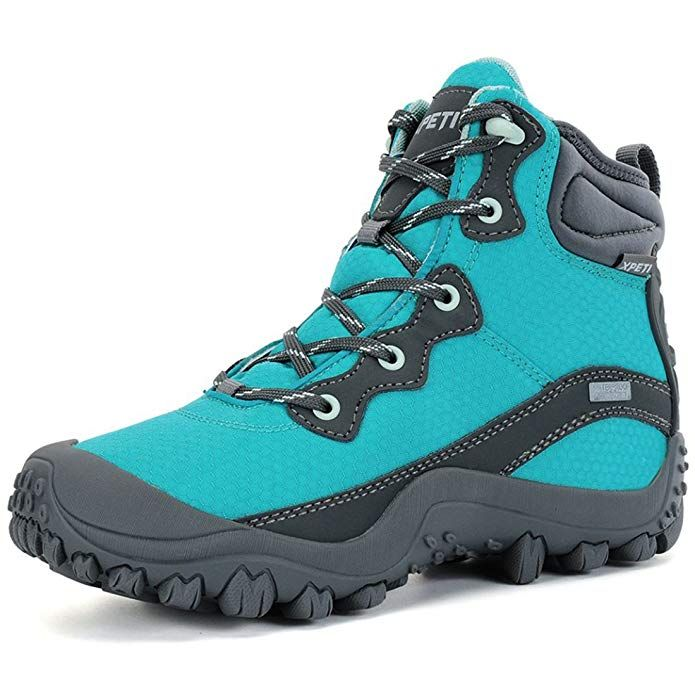 1c759a0dec8 XPETI Women's Dimo Mid Waterproof Trail Hiking Outdoor Boot Blue 6 ...