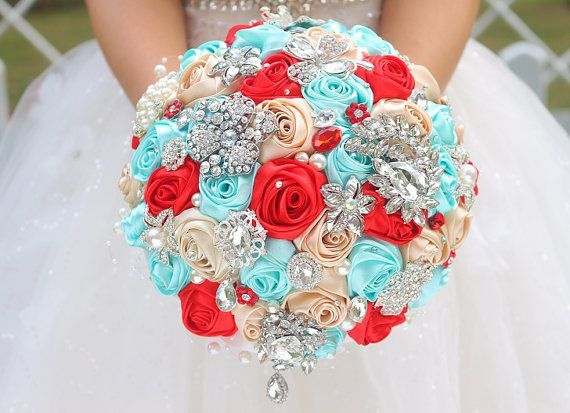 Blue Red Wedding on Pinterest | Red Wedding, Blue Weddings and ...
