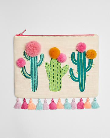 VIDA Statement Clutch - Cactus Delight by VIDA 0s6Exg