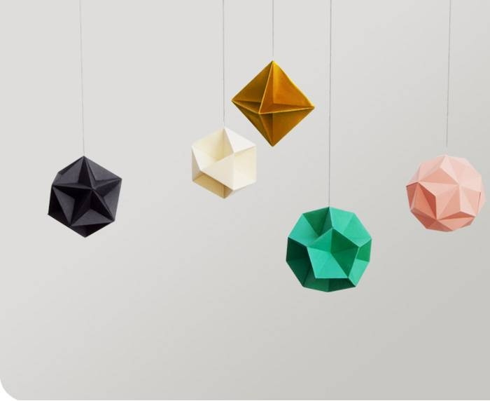 how to make prism with paper