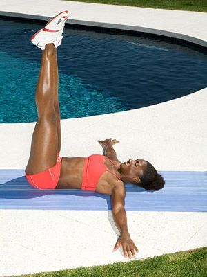 4 Weeks to Gorgeous Abs Workout: Maybe add this to my daily Body rock workout for an extra umph!