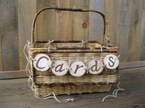 Wedding Card Box Picnic Basket By Justlikegrammashouse