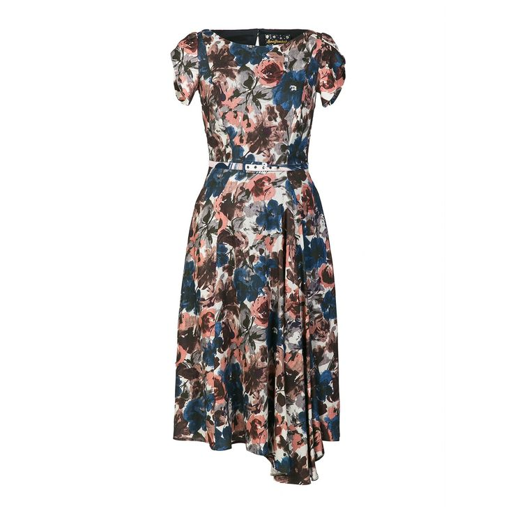 Silhouette Dress water colour - Outlet - Online Shop - Lena Hoschek Online Shop