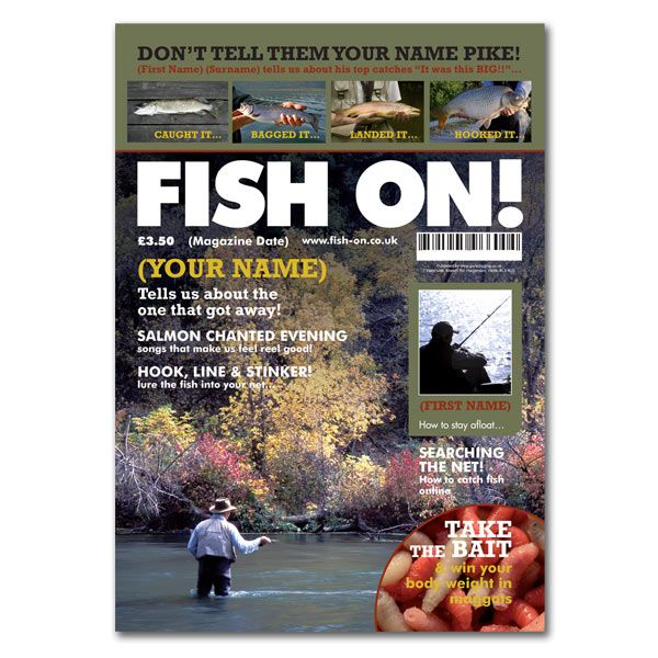 I Just Love It Fishing Magazine Spoof Fishing Magazine Spoof - Gift Details. Presentation Options. http://www.MightGet.com/january-2017-11/i-just-love-it-fishing-magazine-spoof.asp