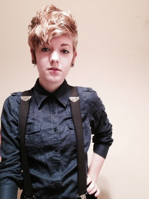 131 Best Fashion Without Gender Roles Images On Pinterest Androgynous Haircut Hair Style And
