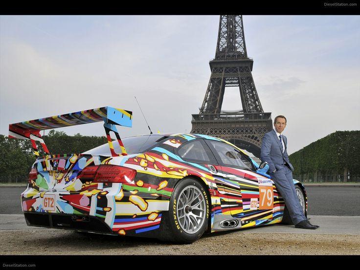 2010 BMW M3 GT2 Art Car by Jeff Koons